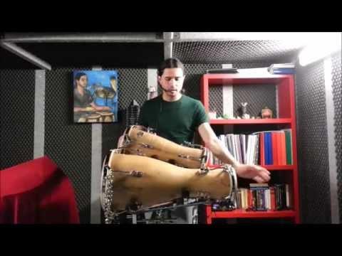 "OCHOSI - Oru cantado on 3 bata - ""Rumba Ochosi"""
