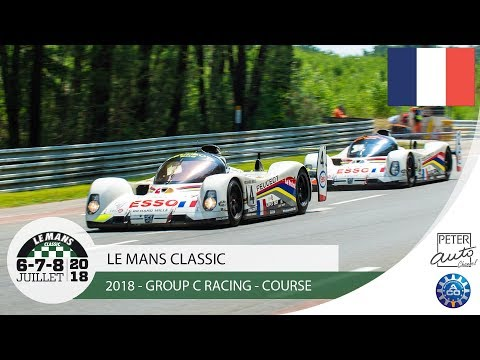 Le Mans Classic 2018 - Group C Racing