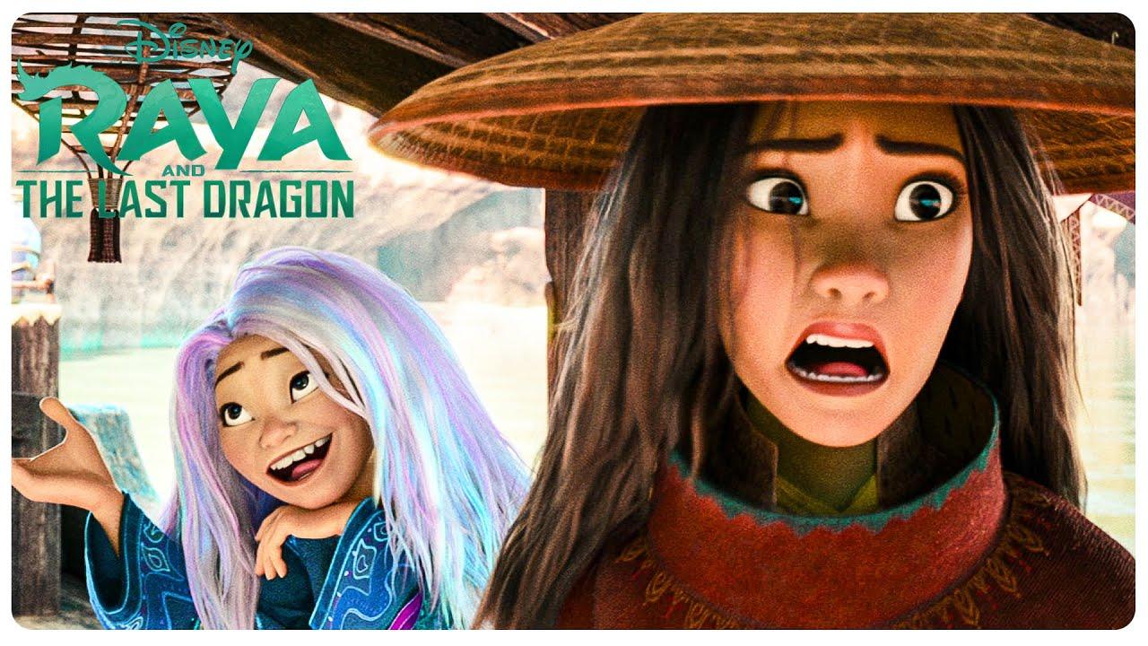 Sisu's Human Form Scene | RAYA AND THE LAST DRAGON (NEW 2021) Movie CLIP 4K