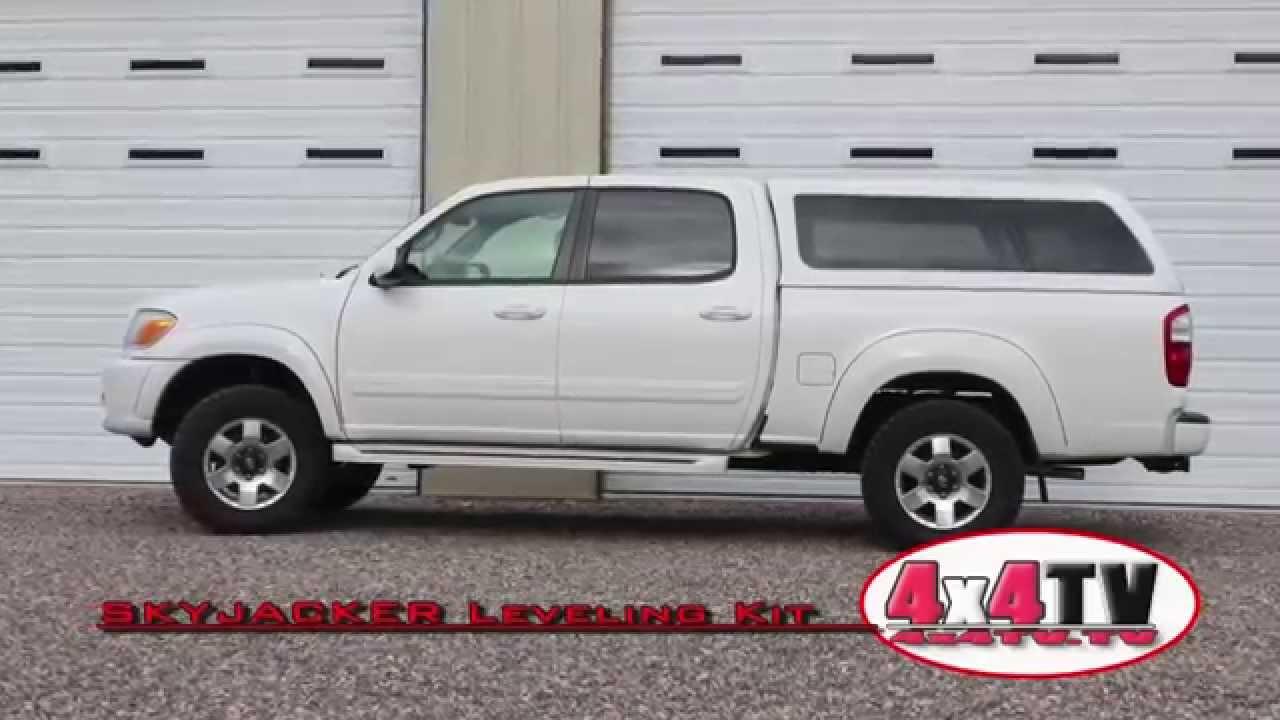 4x4tv product review skyjacker 2 leveling lift kit toyota tundra rh youtube com 2017 Toyota Sequoia Limited Interior Toyota Pickup Leveling Kit