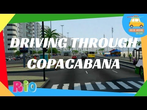 Driving through Copacabana | Copacabana | Driving in Rio #99