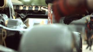 Behind the Scenes with the Lotus F1 Team