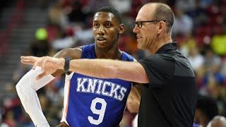Assessment of Barrett, Brazdeikis & Knicks After Two Summer League Games From Asst. Coach