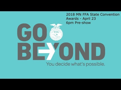 2018 MN FFA State Convention Awards