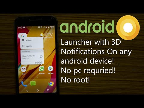 Android O Launcher