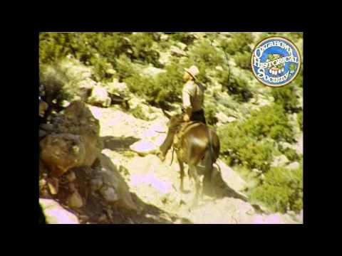 Grand Canyon and the dinosaur tracks in Tuba City, Arizona. c. 1950