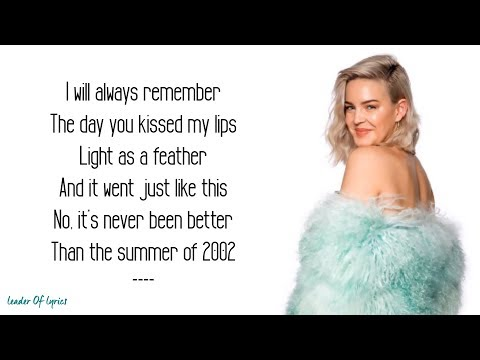 Anne-Marie & Ed Sheeran - 2002 (Acoustic) (Lyrics)