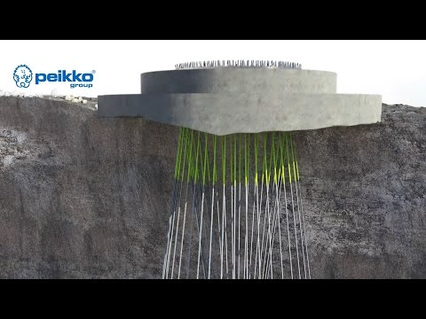 Peikko's Rock Foundation for Onshore Wind Turbines