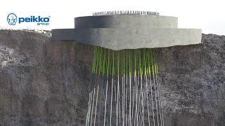 Peikko's Rock Foundation for Onshore Wind Turbines