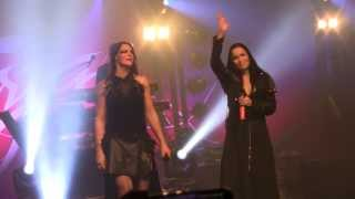 Tarja duet with Floor Jansen @MFVF 2013 Over The Hills And Far Away