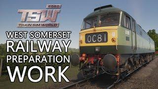 Train Sim World: West Somerset Railway | #1 Preparation Work Scenario