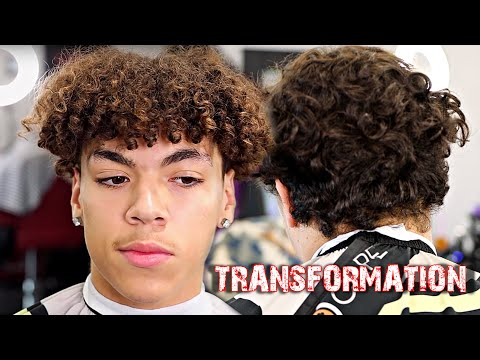 TRANSFORMATION HAIRCUT : HE WANTED A DIFFERENT LOOK
