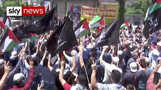 Fury on the West Bank on Nakba Day
