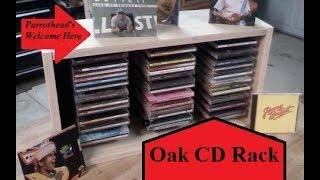 Oak Cd Rack
