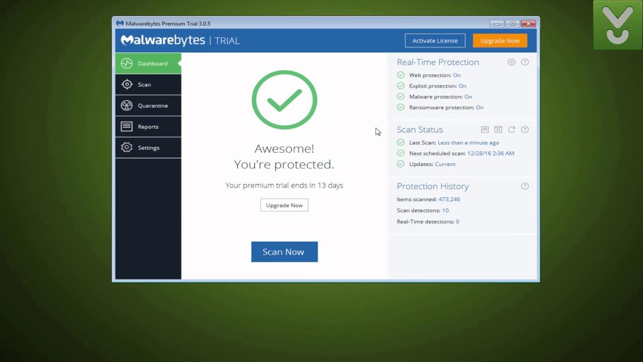 Anti malware for windows 7 free download.