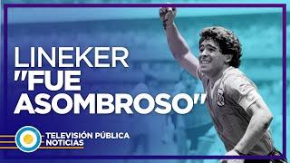 El inglés Gary Linęker recordó a Diego
