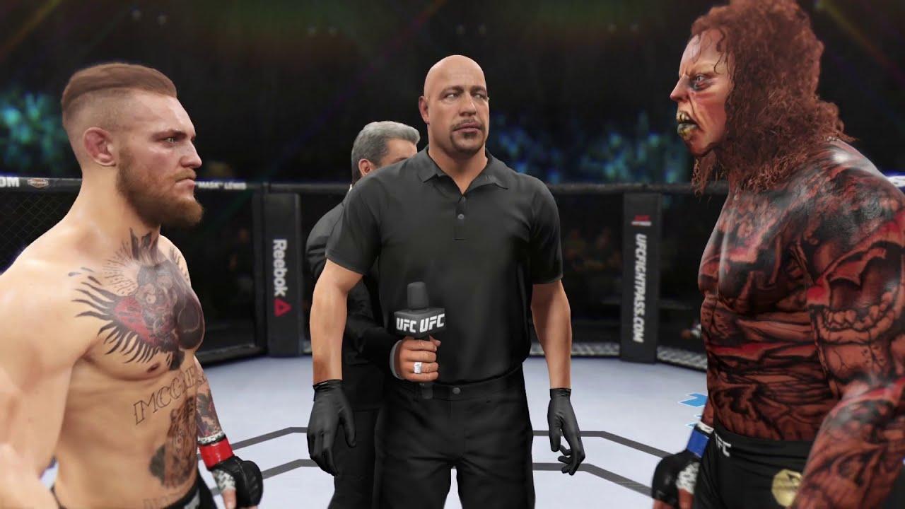 Conor McGregor vs. Deadly Monster - EA Sports UFC 2 - Original Fighters 👊