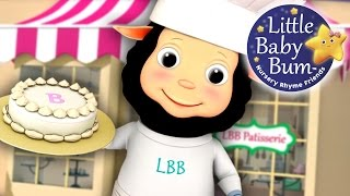 Pat-a-Cake | Nursery Rhyme with Lyrics | 3D Animation in HD from LittleBabyBum