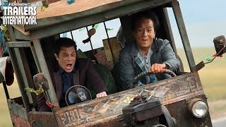 SKIPTRACE ft. Jackie Chan, Johnny Knoxville | Official Trailer [Action] HD