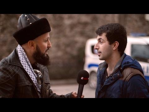 Ahsen Tv Muhabirini Psikopata Bağlatan Genç