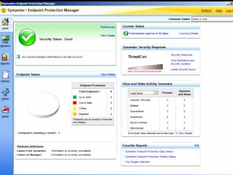 Symantec Endpoint Protection Antivirus Deploy Client using a single executable