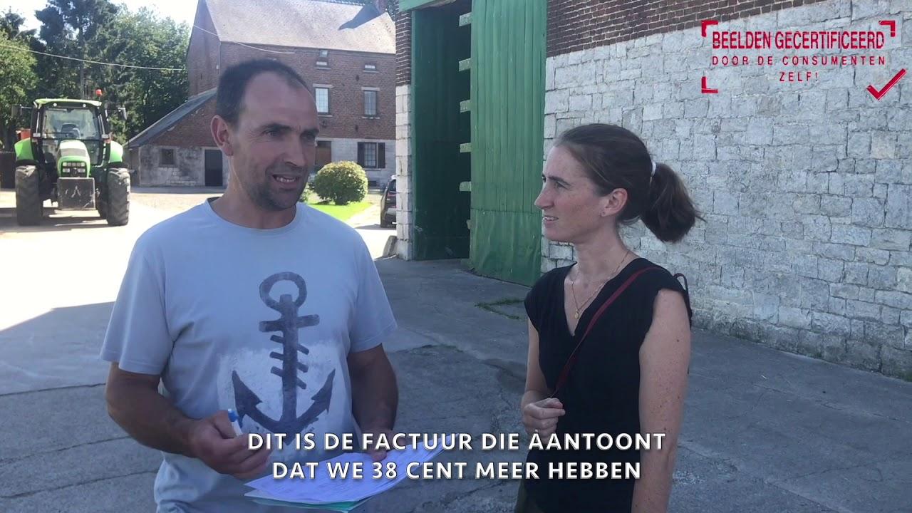 """REPORTAGE : DE CONSUMENTEN CONTROLEREN HET LASTENBOEK VAN DE MELK """"WIE IS DE BAAS?!"""" ! 😊"""
