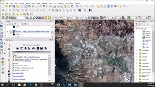 Downloading and preprocessing Sentinel 2 images using the Semi-Classification Plugin in QGIS 3.0