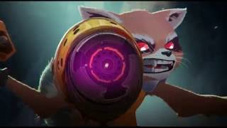 Marvel's Rocket Raccoon & Groot Animation Test Trailer by Arnaud Delord