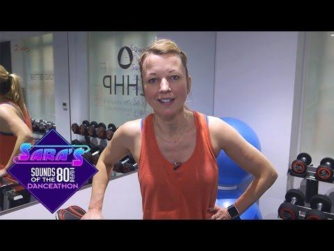 Sara Cox prepares for her 24-hour Danceathon