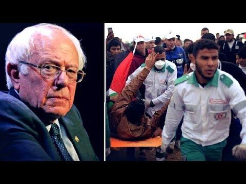 Bernie Sanders Condemns Israel's Brutalization of Palestinian Protesters