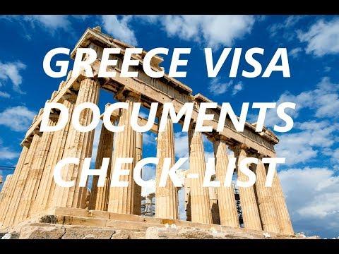 Greece Visa Checklist | Apply Greece Visa Online | Greece Visa Requirements