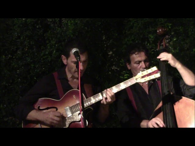 La Gitane Trio Jazz- Manouche-Nuages- in Cabaret Nights  Drink'n'roll-San Vito Dei Normanni