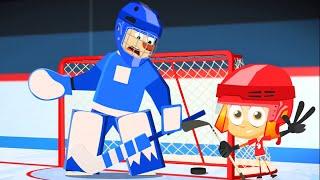 Фиксики - Фикси-советы - Как играть в хоккей (Хоккей) / Fixiki