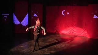 Турецкий национальный мужской  танец .HD