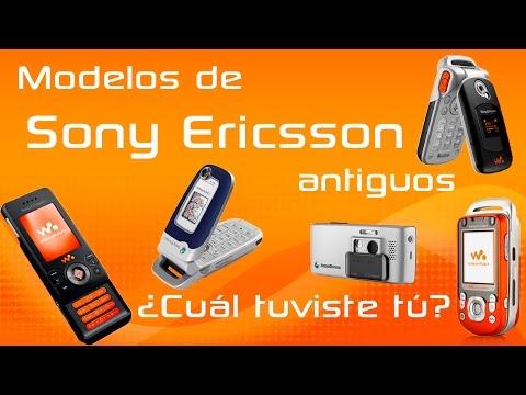 Modelos Antiguos De Celulares Sony Ericsson que todos extrañamos. PARTE 1