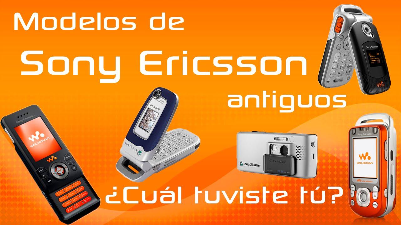 Modelos Antiguos De Celulares Sony Ericsson Que Todos Extranamos