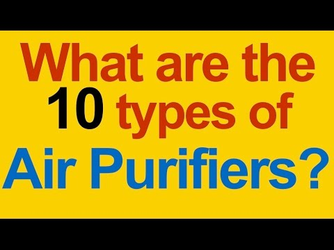 How Do Air Purifiers Work ? Dust, Pollen, Allergies, Mold, Odor, Viruses