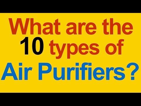 How Do Air Purifiers Work ? Dust, Pollen, Allergies, Mold, Odor, Viruses