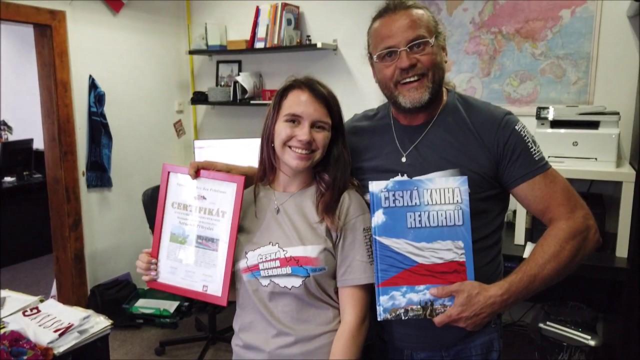 Video Certifikát a Česká kniha rekordů