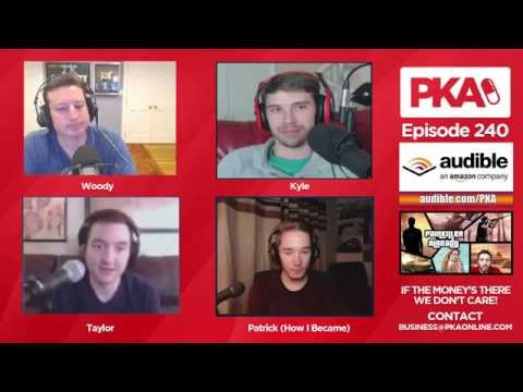 PKA 240 w/ HowIBecame - Attacking a Shark, Penis Fitbit, DIY Megashop