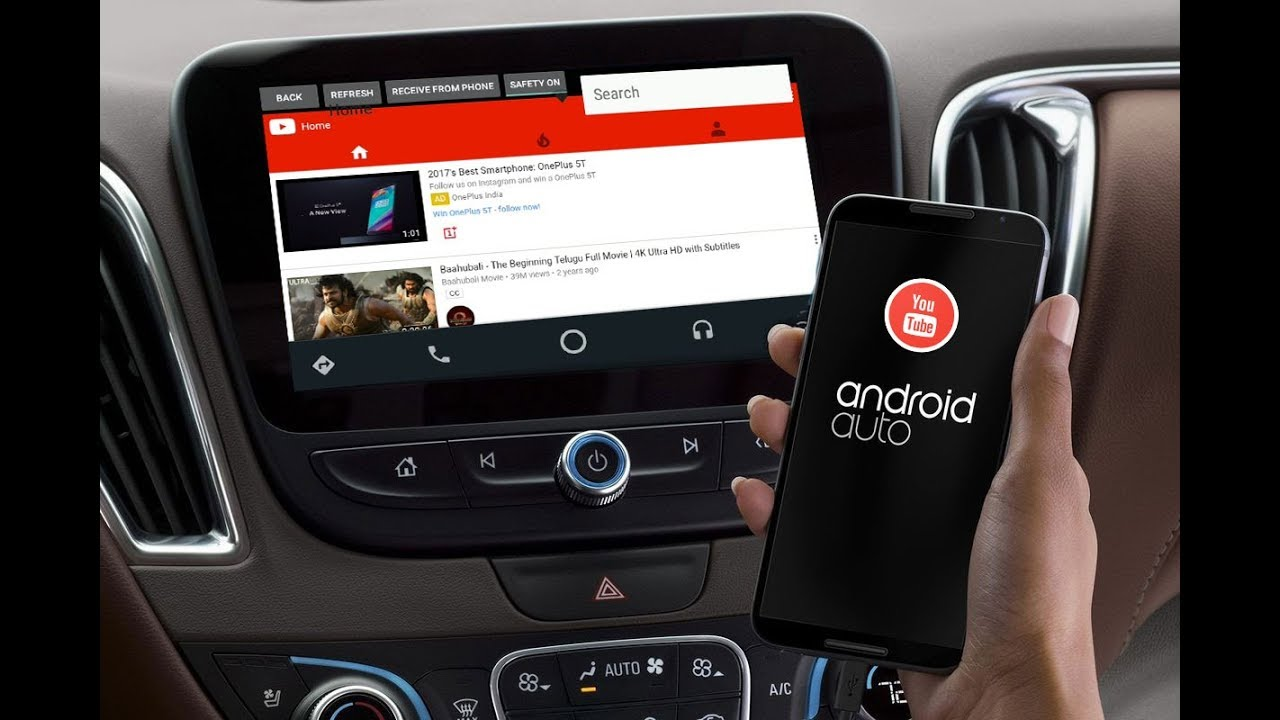 CarStream (previously YoutubeAuto) for Android Auto APK