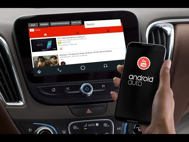 If you ever wanted to watch YouTube on Android Auto, there's an app