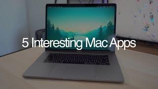 5 Interesting Mac Apps - May 2018