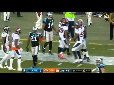 Jordan Norwood long Punt Return Super Bowl 50