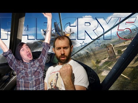 Explosions, Helicopters and LIBERATION!! | Far Cry 5 Livestream with Wade #4
