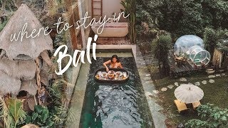 Gambar cover Where to stay in Bali - Famous and Unique Airbnb