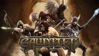 Gauntlet - PC - Elf gameplay #1