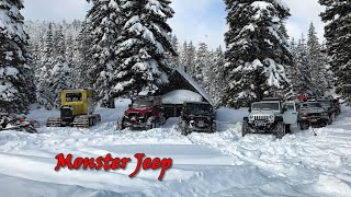 The Nikson Overland Winter Campout - 2019