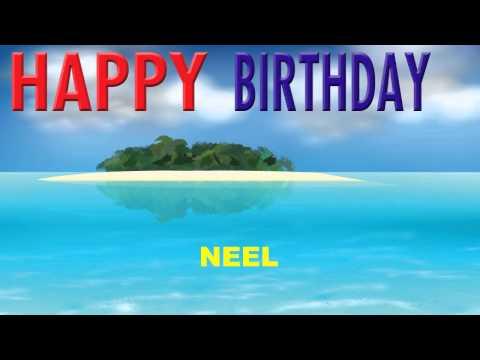 Neel - Card Tarjeta_1853 - Happy Birthday