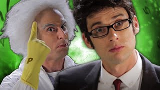 Doc Brown vs Doctor Who. (Subtítulos en Español). Epic Rap Battles of History Season 2.